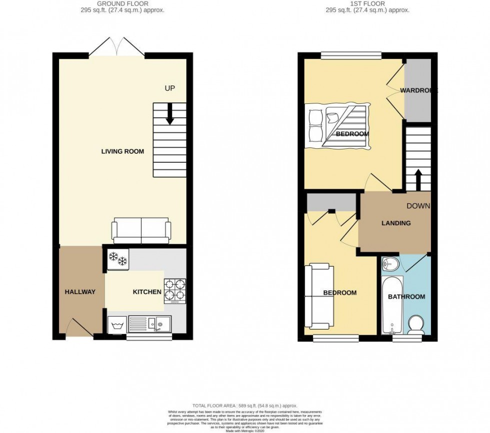 Floorplan for Catherine Close, Duffryn, newport